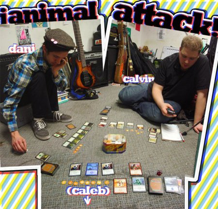 "¡Animal Attack!, ""The Only You Is Double-You"